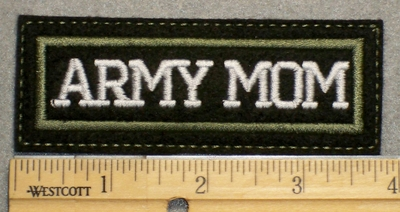1485 L - Army Mom - Embroidery Patch