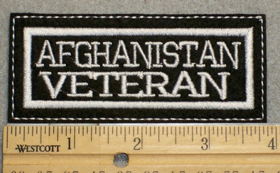 1511 L - Afghanistan Veteran - Embroidery Patch