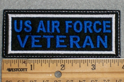 1576 L - US Air Force Veteran - Embroidery Patch