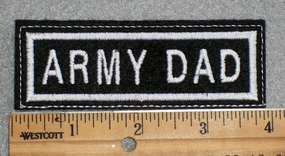 1574 L - Army Dad - Embroidery Patch