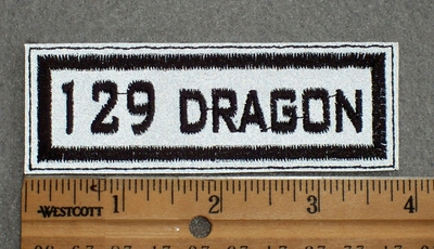 1581 L - 129 Dragon - Embroidery Patch