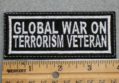 1611 L - Global War On Terrorism Veteran - Embroidery Patch