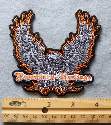 805 N - Eagle Legendary Heritage Embroidered Patch