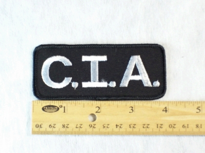 579 G - CIA PATCH - Embroidery Patch
