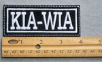 711 L - KIA-WIA Embroidered Patch