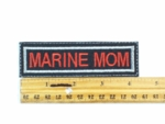 292 L - MARINE MOM PATCH - Embroidery Patch