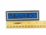566 L - AIR FORCE MOM - Embroidery Patch