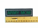 570 L - ARMY MOM - Embroidery Patch