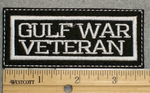 1507 L - Gulf War Veteran - Embroidery Patch
