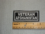 1516 L - Veteran Afghanistan - Embroidery Patch
