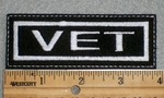 1575 L - Vet - Embroidery Patch