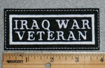 1645 L - Iraq War Veteran - Embroidery Patch