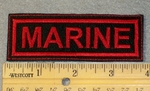1805 L - Marine - Embroidery Patch