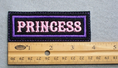 716 L ' Princess Embroidered Patch