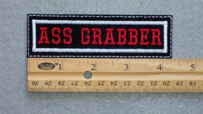 550 L - ASS GRABBER - EMBROIDERY PATCH