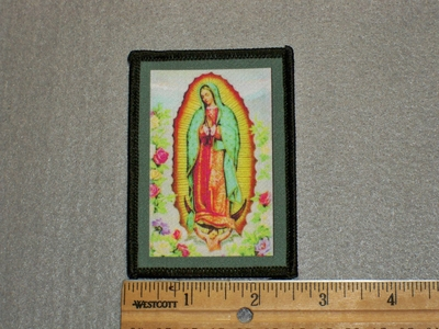 1517 L - Our Lady Of Guadalupe - Printed Patch
