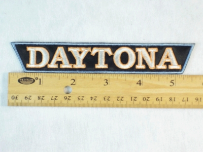 6 B - DAYTONA - EMBROIDERY PATCH