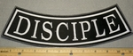 Disciple - Bottom Rocker- Embroidery Patch