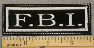 2055 L - F.B.I. - Embroidery patch