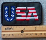 886 G - USA Embroidery Patch