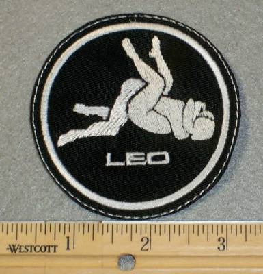 1850 L - Leo - Zodiac Sign - Sexual Position - Embroidery Patch