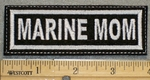 1294 L - Marine Mom - Embroidery Patch