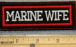 1295 L - Marine Wife - Embroidery Patch