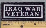 1278 L - Iraq War Veteran - Embroidery Patch