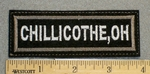 1228 L - Chillicothe,Oh - Embroidery Patch