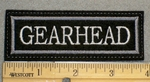 1246 L - Gearhead - Embroidery Patch