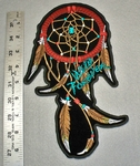 1745 G - Dream Catcher - Large Patch - Embroidery Patch