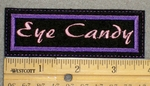 1240 L - Eye Candy - Embroidery Patch