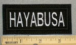 1260 L - HAYABUSA - Embroidery Patch
