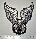 1730 G - Wide Spread Winged Eagle - Large Patch - Embroidery Patch