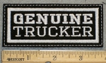 1255 L - Genuine Trucker - Embroidery Patch