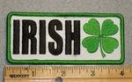 1703 G - Irish With 4 Leaf Clover - Embroidery Patch