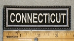 1626 L - Connecticut - Embroidery Patch