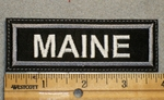 1627 L - Maine - Embroidery Patch