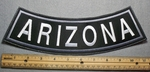 1622 L - Arizona - Bottom Rocker - Embroidery Patch