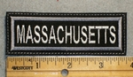 1625 L - Massachusetts - Embroidery Patch