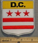 D.C. State Shield - Embroidery Patch