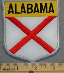 Alabama State Shield - Embroidery Patch