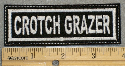 1230 L - Crotch Grazer - Embroidery Patch