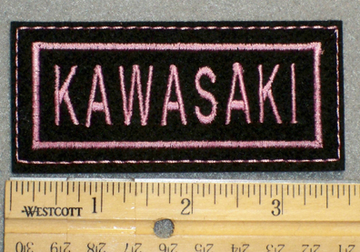 1285 L- Kawasaki - Embroidery Patch