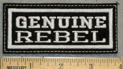 1253 L - Genuine Rebel - Embroidery Patch