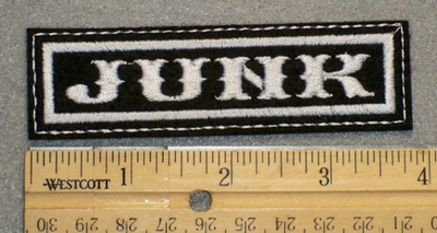 1283 L - Junk - Embroidery Patch