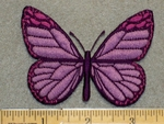 2205 C - Purple Butterfly - Embroidery Patch