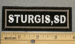 1355 L - Sturgis, SD - Embroidery Patch