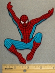 2218 C - Flying Spiderman - 4 Inch - Embroidery Patch