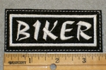 1904 L - Biker - Embroidery Patch